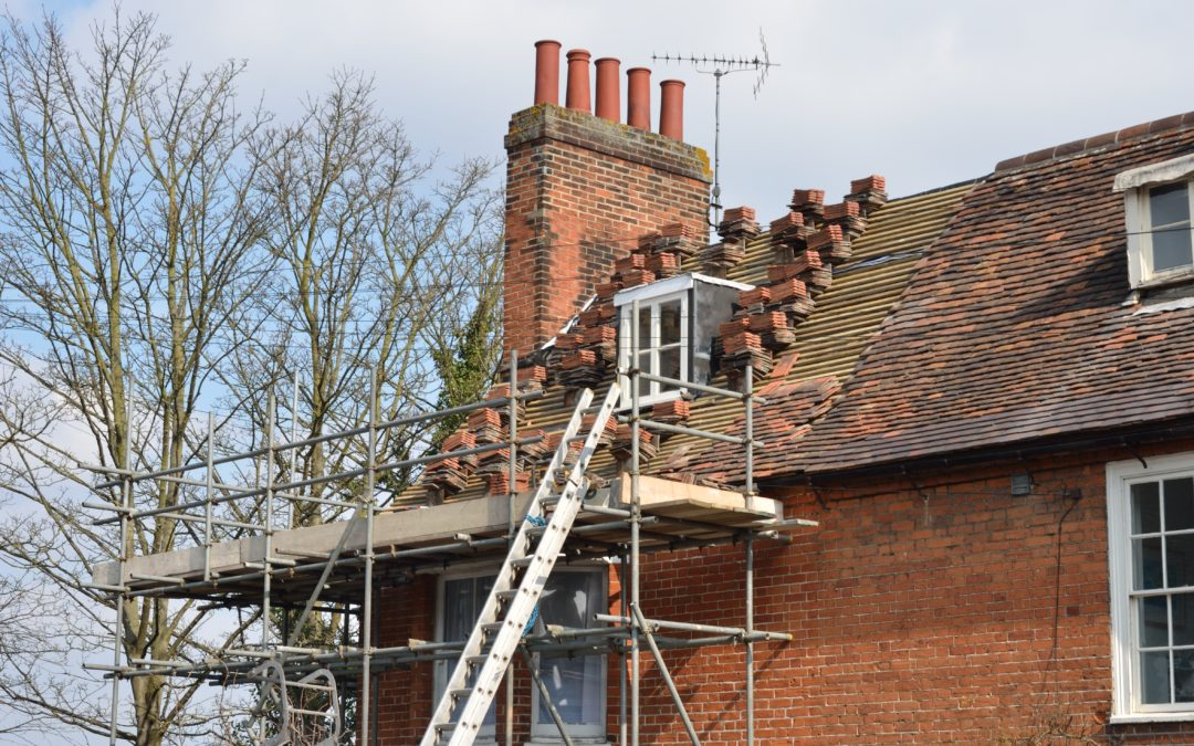 Scaffolding – Safety First At Luke Workman Roofing in Gloucester